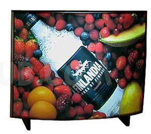 totem led - publicité pour une boisson